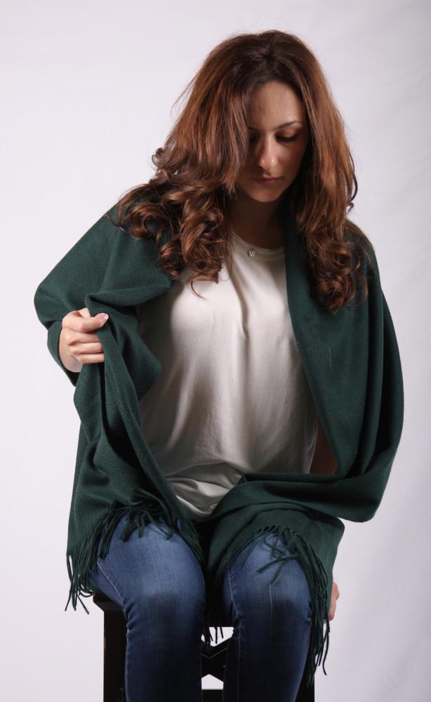 Aziza Cashmere & Lambswool Blend Wrap