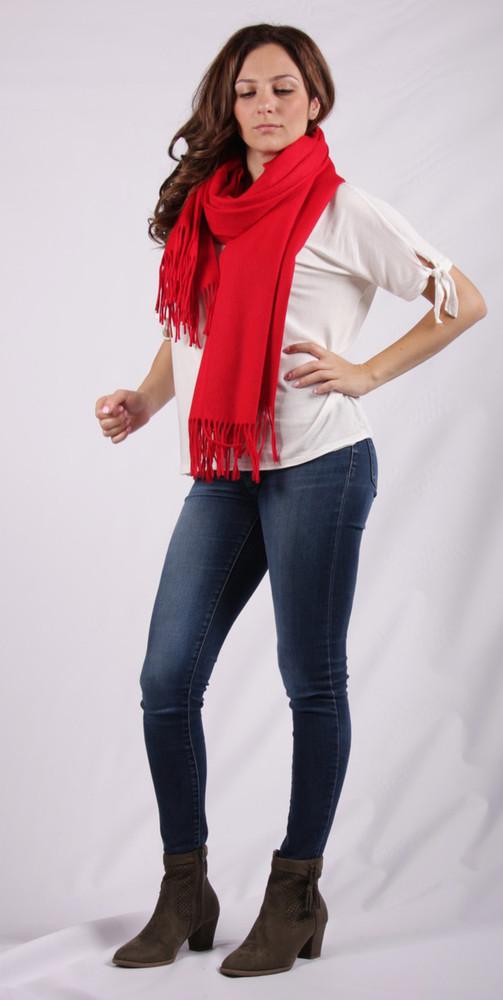 Agnia Cashmere & Wool Blend Wrap