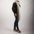 Sasha  Oversized Cashmere & Wool Blend Scarf
