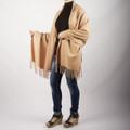 Shura Oversized Cashmere & Wool Blend Scarf