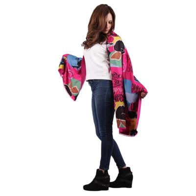 Ariadna Cotton Cashmere Blend Scarf