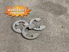 Eclip retainer clip.  3 clips, New