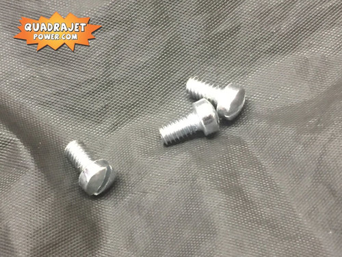 "Choke cover screws, (3) 8-32 x 5/16"""