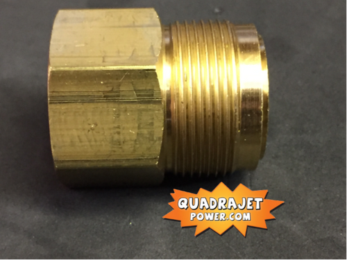 """Fuel filter Housing, short later style 1"""" threads, New"""