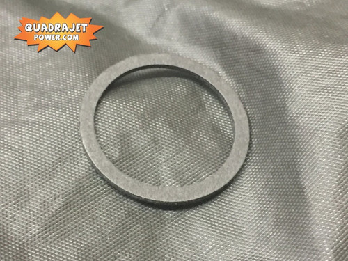 Fuel inlet fitting gasket, 71 and earlier THICK fiber style
