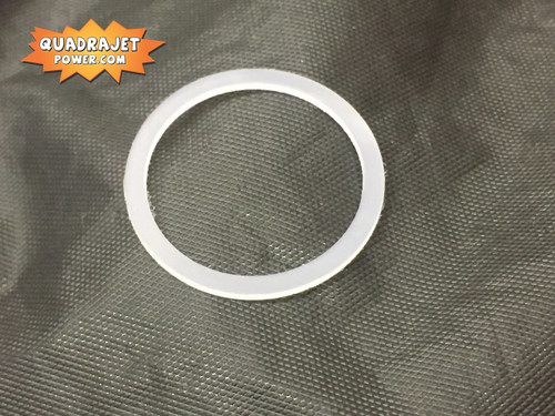 Fuel inlet fitting gasket, 72 and later nylon style