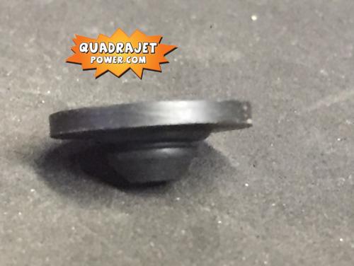 Vent cover, rubber vent valve