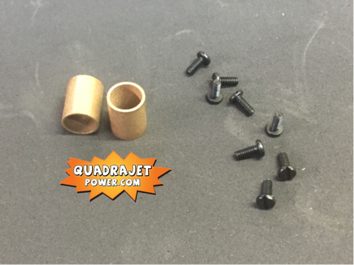 Primary shaft Bronze bushings and screws, All new items.