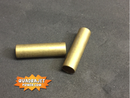secondary brass tubes pair, New