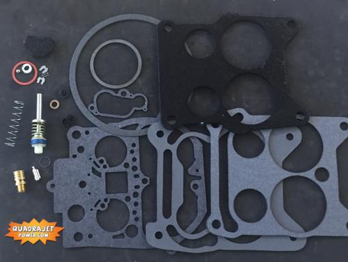 Quadrajet Rebuild Kit. Buick 66-70, Chevrolet 67-68, Pontiac 66-74