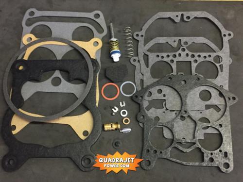 Quadrajet Rebuild Kit. Chevrolet 69-72, Chevy GMC 68-72, Pontiac 70