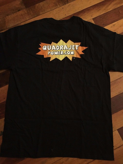 Quadrajet Power T Shirt, Cotton XXL