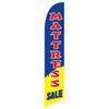 Mattress Sale (Navy/Yellow) Feather Flag