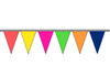 Alternating Colors Fluorescent Pennants
