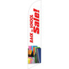 Back To School Sale (notebooks and pencils) Semi Custom Feather Flag Kit