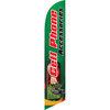 Cell Accessories (green background) Semi Custom Feather Flag Kit