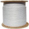 White Wire Center Rope Spool