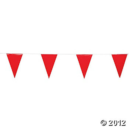 red string pennants