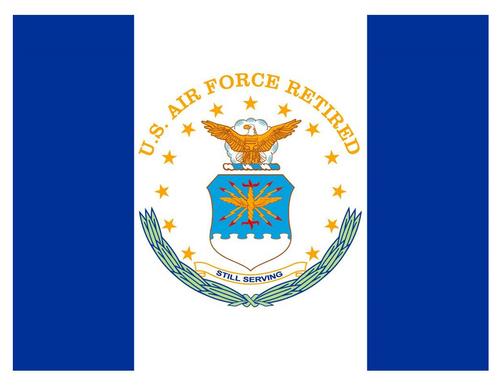 U.S. Air Force Retired Flag