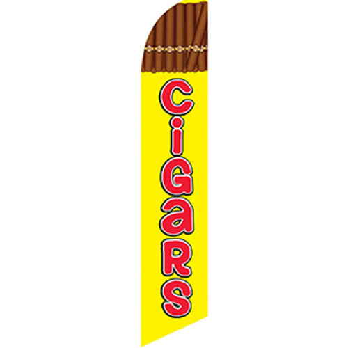 Cigars Feather Flag