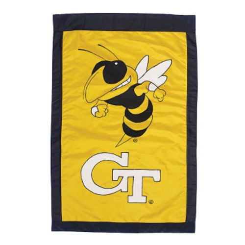 Georgia Tech Appliqued House Banner
