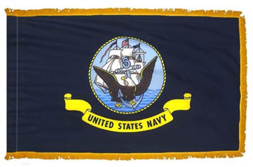 US Navy Fringed Flag