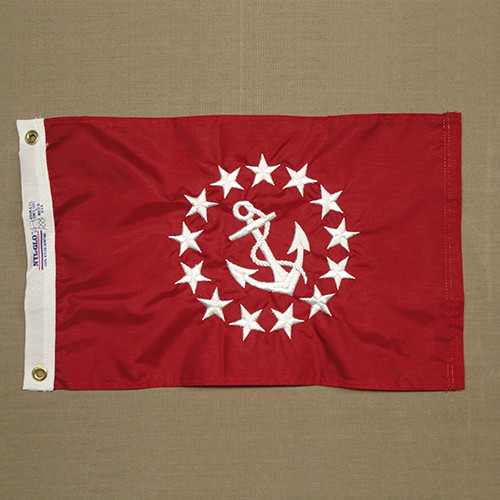 Vice Commodore Yacht Club Flag (hand-sewn)