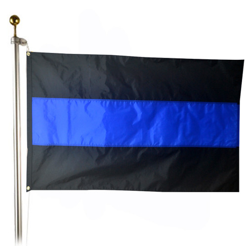 Thin Blue Line Police 3x5 ft. Flag