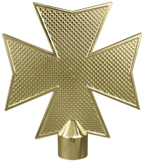 Fireman's Gold Metal Maltese Cross