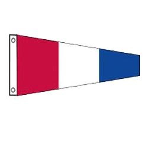 3 International Code Signal Pennant (Grommet)