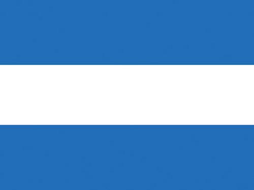 El Salvador (no seal) Nautical Flag