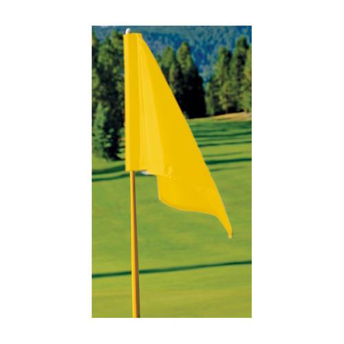 FM Yellow Golf Flag