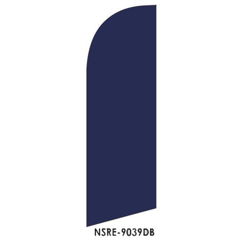 Dark Blue 6ft Feather Flag