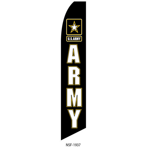 Army Feather Flag