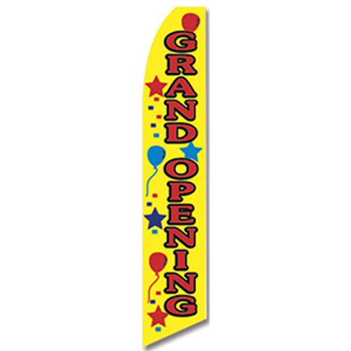 Grand Opening Feather Flag
