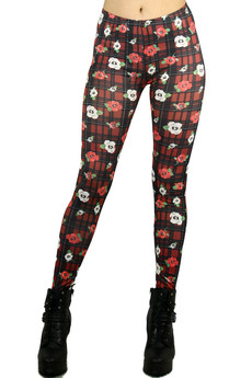 Front image of P-4710 - Wholesale Made in the USA Graphic Print Leggings