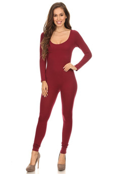 Front side image of Wholesale Full Cotton Jumpsuit