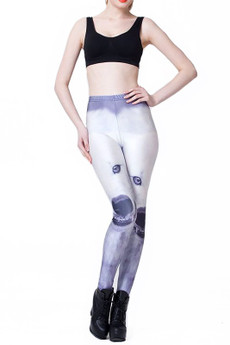 Wholesale Graphic Snow Wolf Leggings