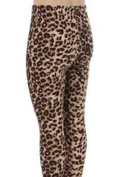 Wholesale Buttery Soft Cheetah Kids Leggings