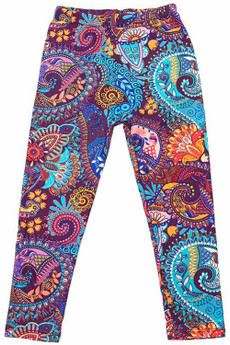 Wholesale Buttery Soft Magnificent Motif Kid's Leggings