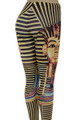 Close-up fabric image of P-4599 - Wholesale Made in the USA Graphic Print Leggings