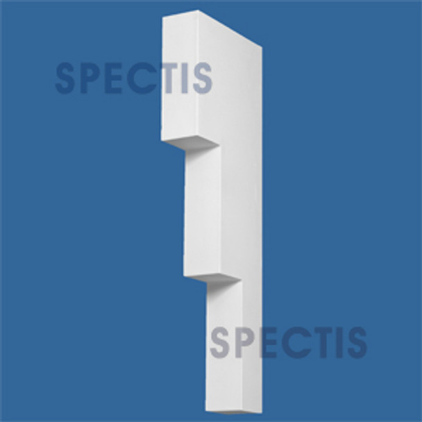"BL2927 Spectis Eave Block or Bracket 4""W x 36""H x 12"" Projection"