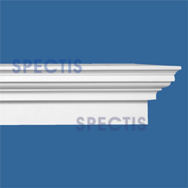 "Spectis Crown Moulding Trim MD1761 or MD 1761 Moulding - 3 1/2""P X 6""H X 12'0""L"