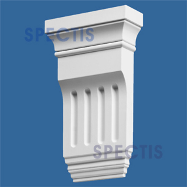 """BL2472 Spectis Eave Block or Bracket 6.25""""W x 10.75""""H x 2.25"""" Projection"""