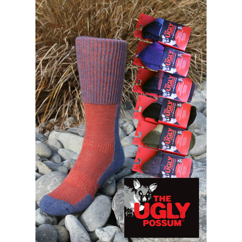 Therma Dry - Ugly Possum Trekka Sock