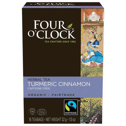 Turmeric Cinnamon Tea Organic Fairtrade