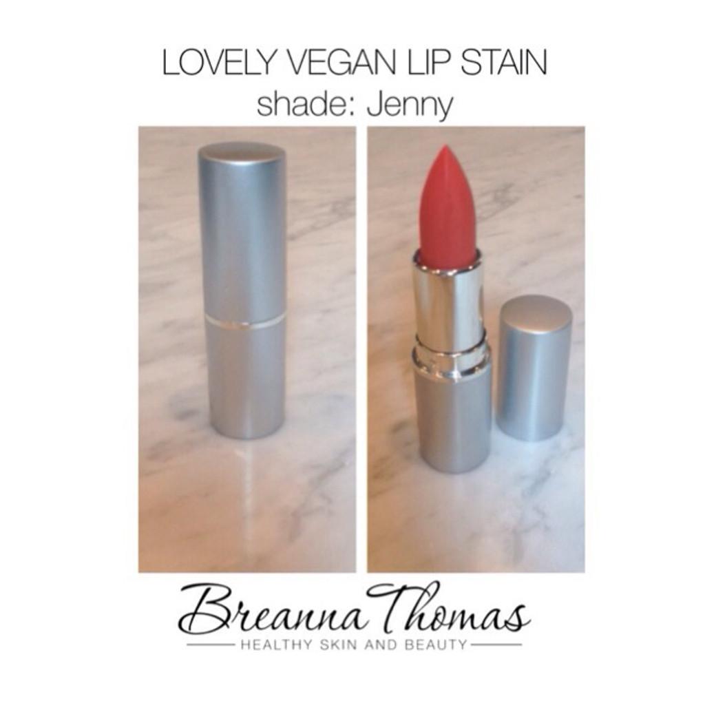 Lovely Vegan Lip Stain in Jenny