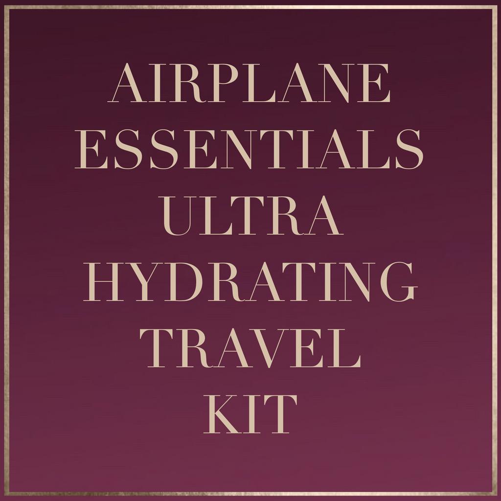 Airplane Essentials: Ultra Hydrating Travel Kit