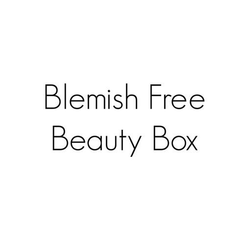 Blemish Free Beauty Box Sampler Kit