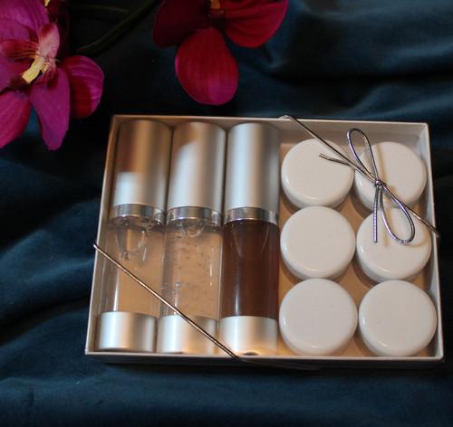 Deluxe Skin Care Sampler kit